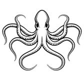 Photo Vector octopus illustration