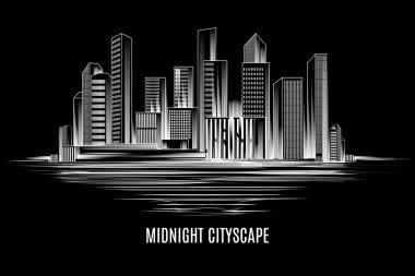 City building, urban cityscape