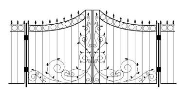 Vector Iron Gate