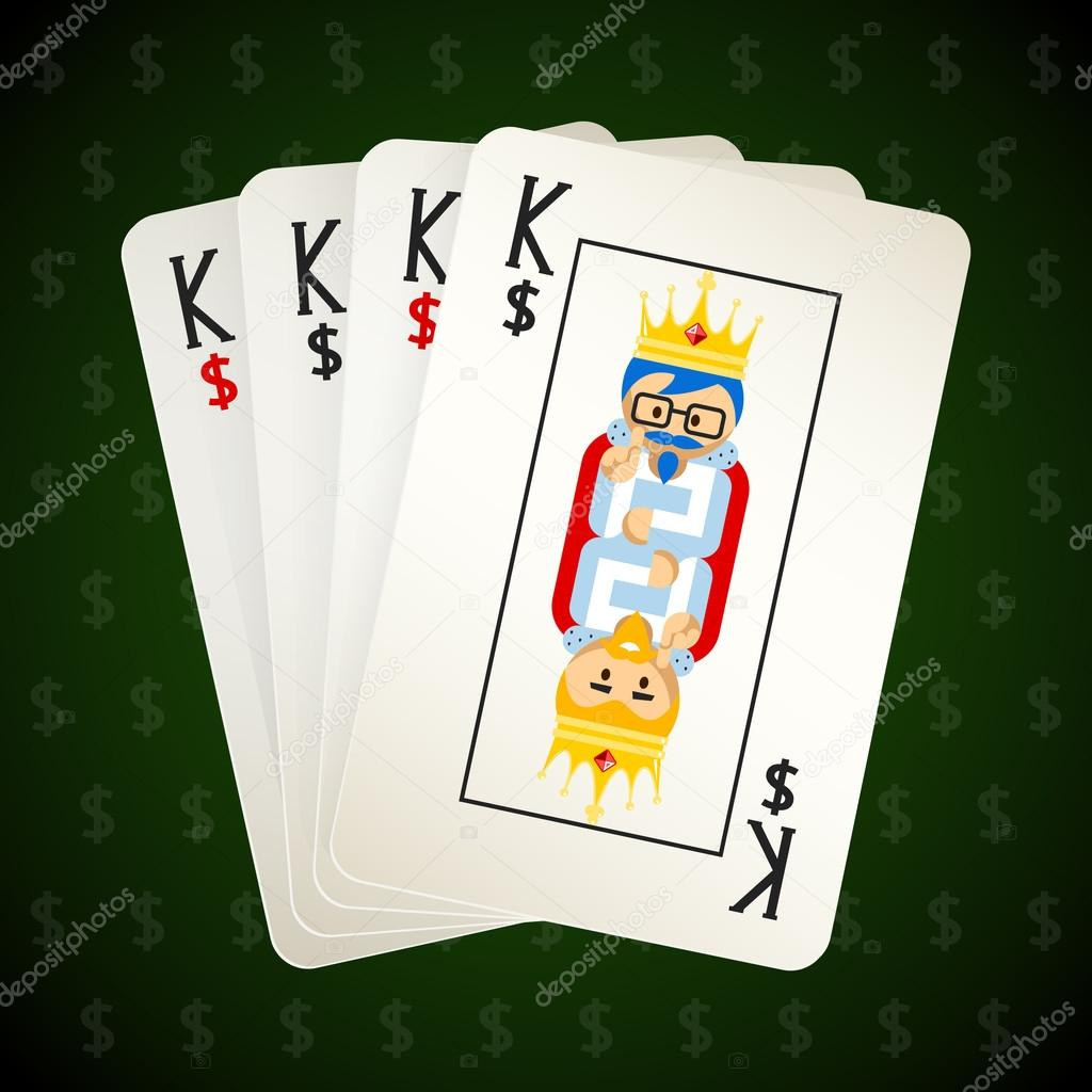 Business playing cards four kings stock vector mssa 69936793 business playing cards four kings stock vector colourmoves