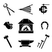 Photo Blacksmith icons