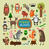 Photo Vector forest animals