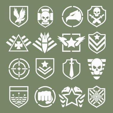 Military logos of special forces