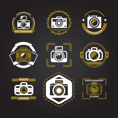 Vector logos or icons for photographers
