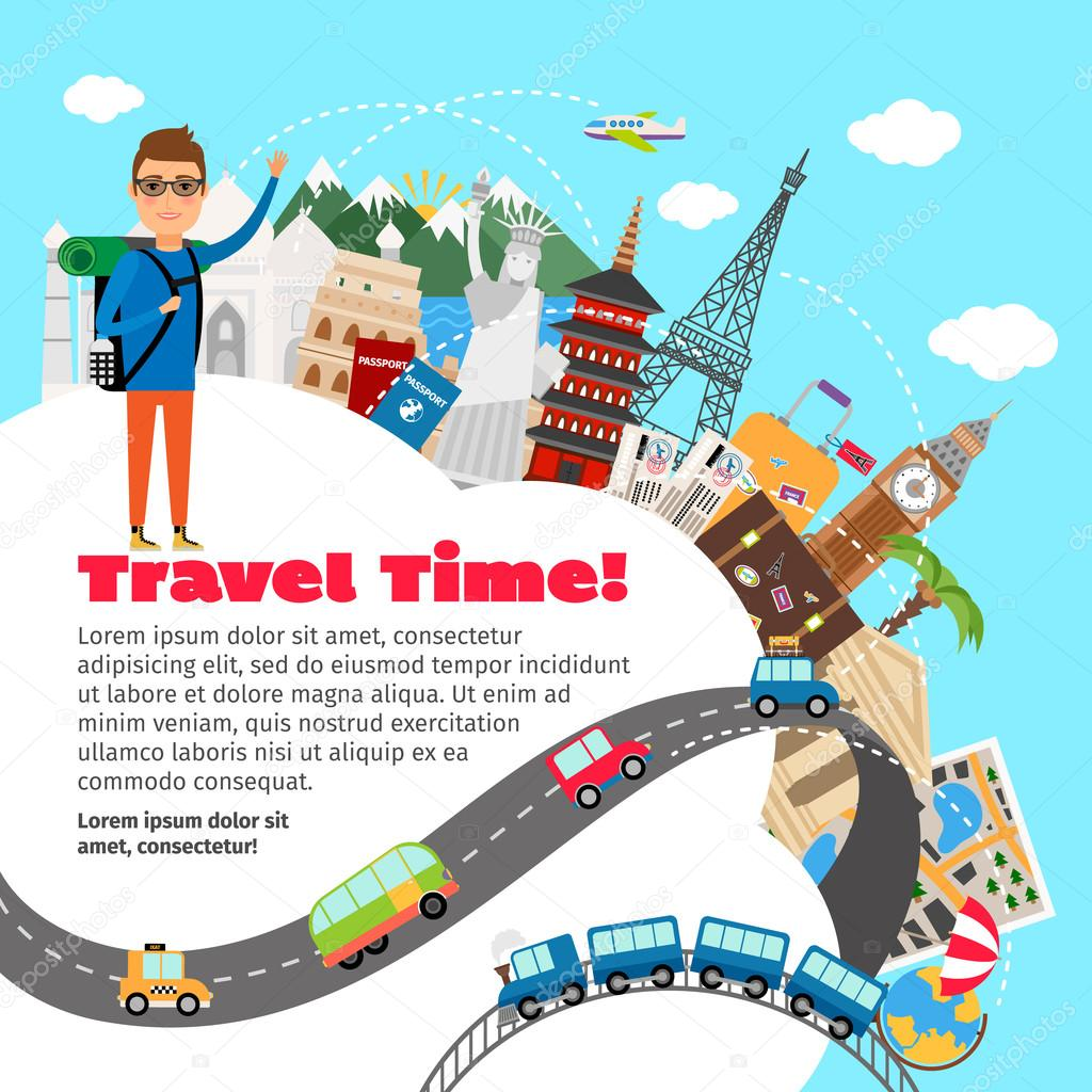 World travel and summer vacation planning
