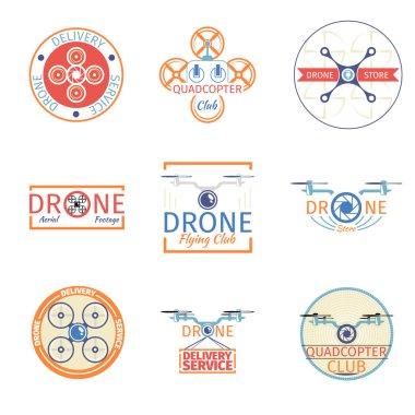 Quadrocopter badges