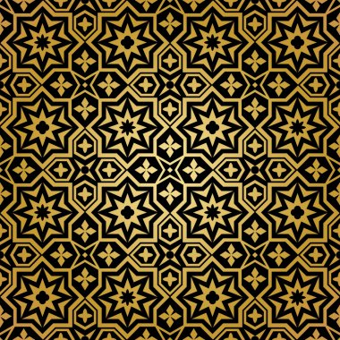 Muslim seamless pattern