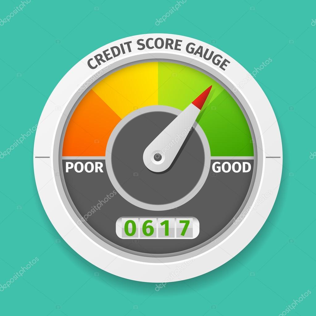 Is 747 A Good Credit Score >> Credit Score Gauge Stock Vector C Mssa 92747388