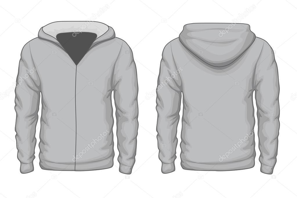 Hoodies Shirt Vektor-Vorlage — Stockvektor © MSSA #95051682