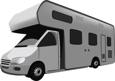 Four-wheel vehicle camper