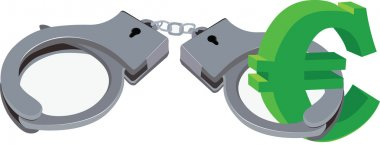 handcuffs and Currency