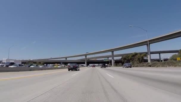 Sango 405 Freeway North At 105 Freeway Near Lax Stock