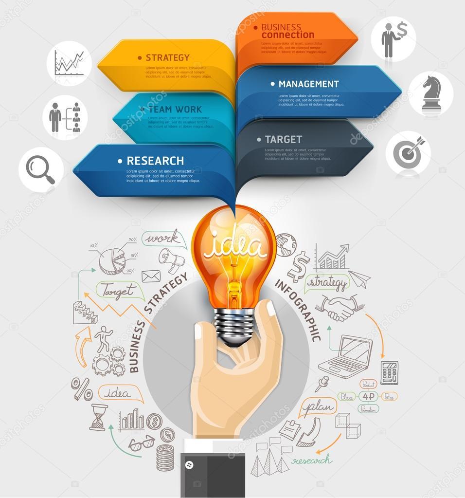 Business ideas concept.