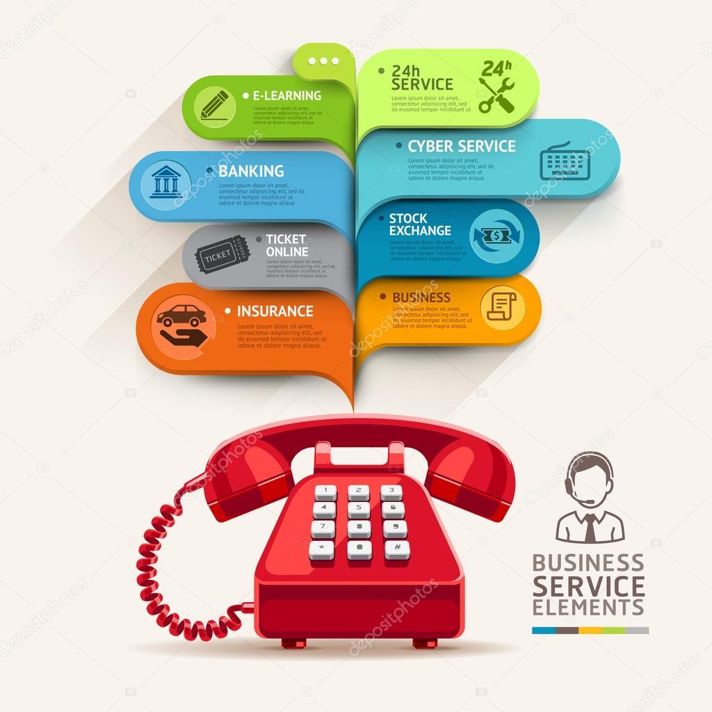 telephone template