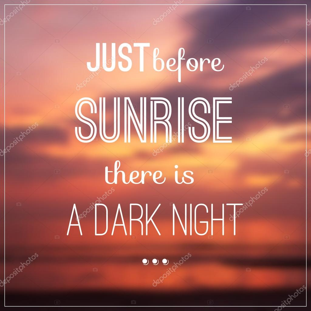 sunrise pictures with quotes - HD 1024×1024