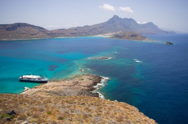 Lagoon of Gramvousa island, Crete
