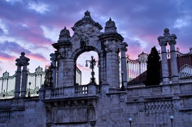 Gate to the Castle in Budapest, Hungary