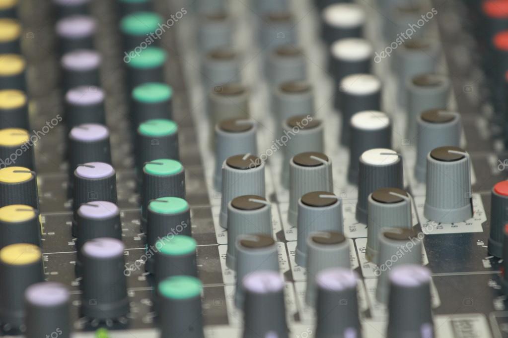 Keyboard sound control — Stock Photo © vtv-vipgrup #57689097