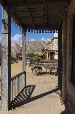 Mini Hollywood Film set, Desert of Tabernas, Almeria Province, A