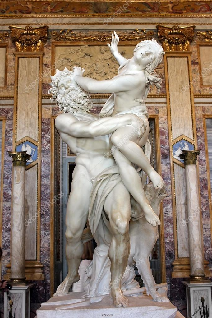 Super sculpture de gian lorenzo bernini, viol de proserpine, Galerie  ZU42