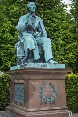 monument to Hans Christian Andersen, Kings Garden, Copenhagen