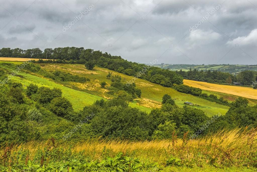 scenic view near the City of Bath in Somerset, England