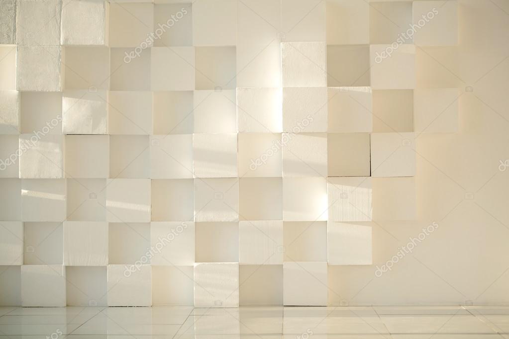 Muros de hormigon pintados blanco pintado de muro de for Hormigon encerado sobre suelo de baldosas