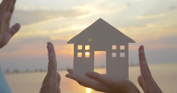 Idee eines Einfamilienhauses