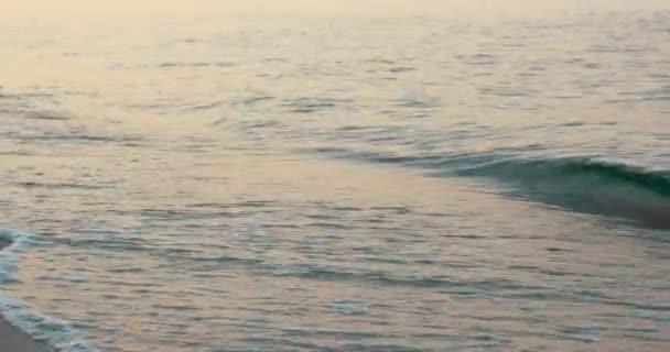 Relaxační pohled na vlny na pobřeží
