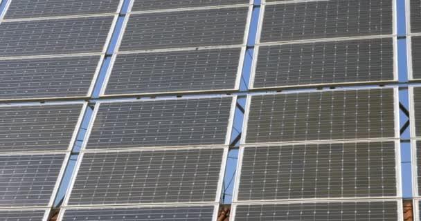 Detail ze solárních panelů alternativní energie