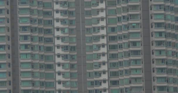 Blok bytů a pracovních stavební jeřáb