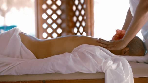 Žena stále masáž, beauty Spa