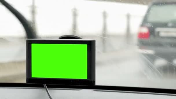 GPS device makes driving in the city easy