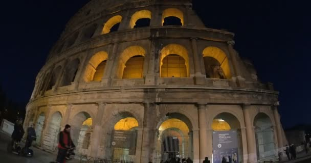 Colosseum of Rome at Night