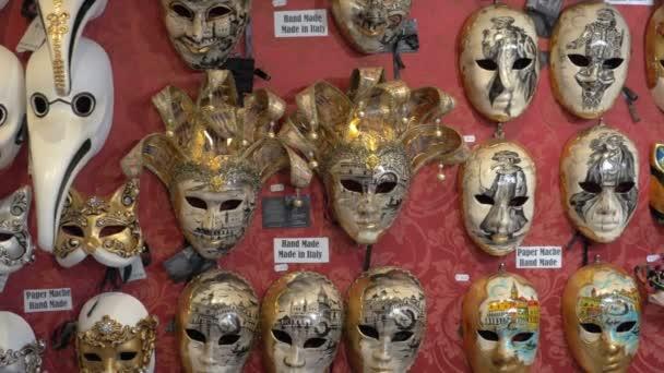 Handgefertigte Masken für den venezianischen Karneval