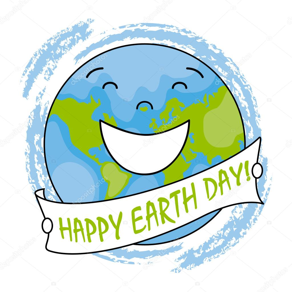 Happy Earth Day Images happy earth day — stock vector © sbego #100228138