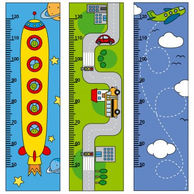 Bumper children meter wall