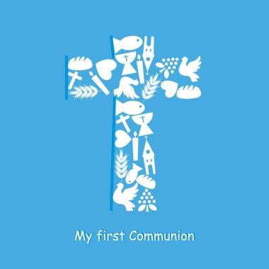 Communion Invitation Card