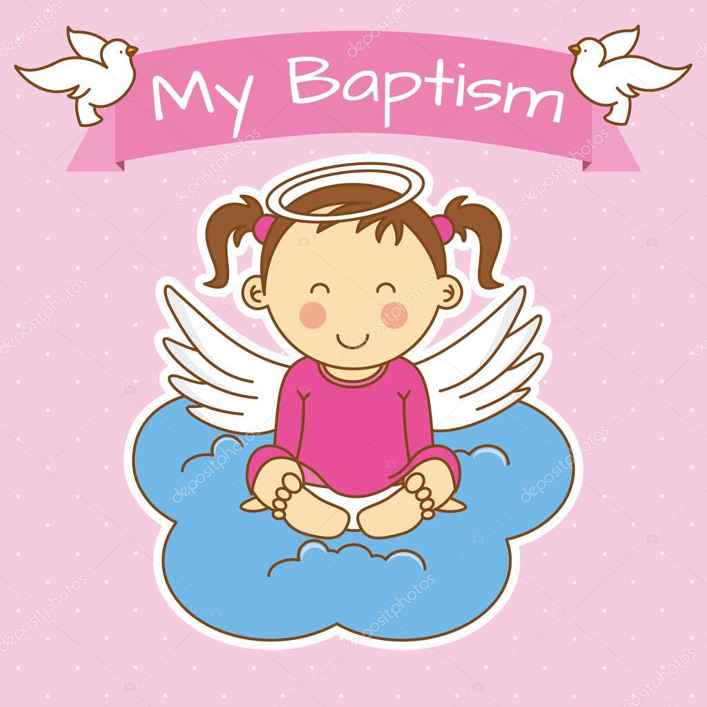 Ангелочки картинки крещение