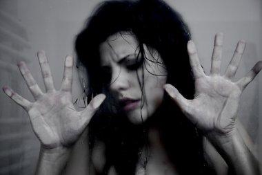 Woman prisoner asking for help