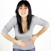 žena s silnou menstruaci bolesti