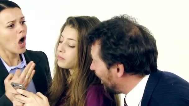 Parents furious with daughter