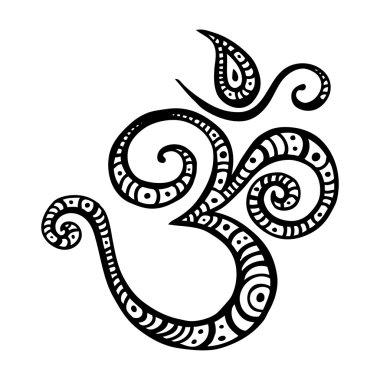 Aum, Om symbol.