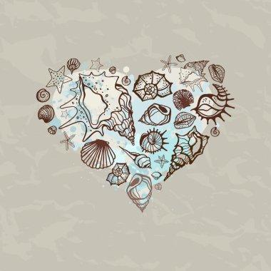 Heart of Sea shells.