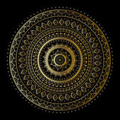 Photo Gold mandala