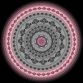 Mandala. Indický dekorativní vzor
