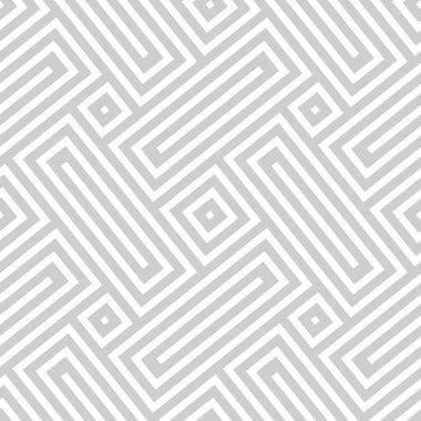 Vector seamless texture. Abstract geometric monochrome diagonal pattern. Modern mosaic background. clip art vector
