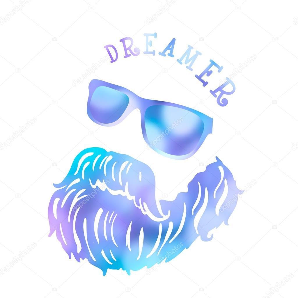 Hipster Symbol Of Dreams Stock Vector Olgalis 63283043
