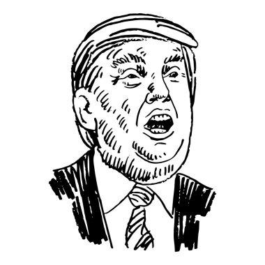 Donald Trump, republican presidential candidate.