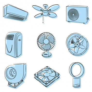 Air conditioners and ventilators